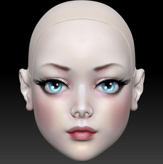 Initial make-up