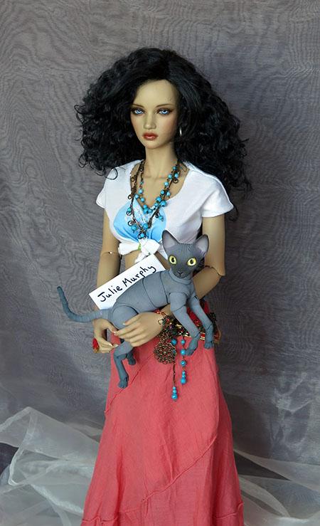 JulMurphy62cm Iple SID With 8cm Cat