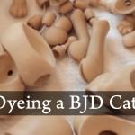 Dyeing A BJD Cat